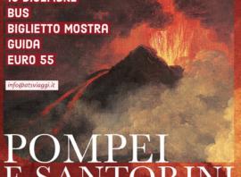 Mostra Pompei e Santorini